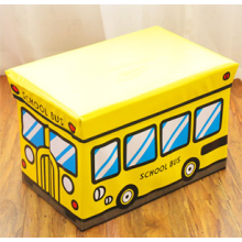 Pu leather cartoon bus stool