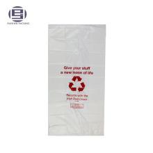 Благотворительный PE пластиковые герметичные мешки для пожертвований