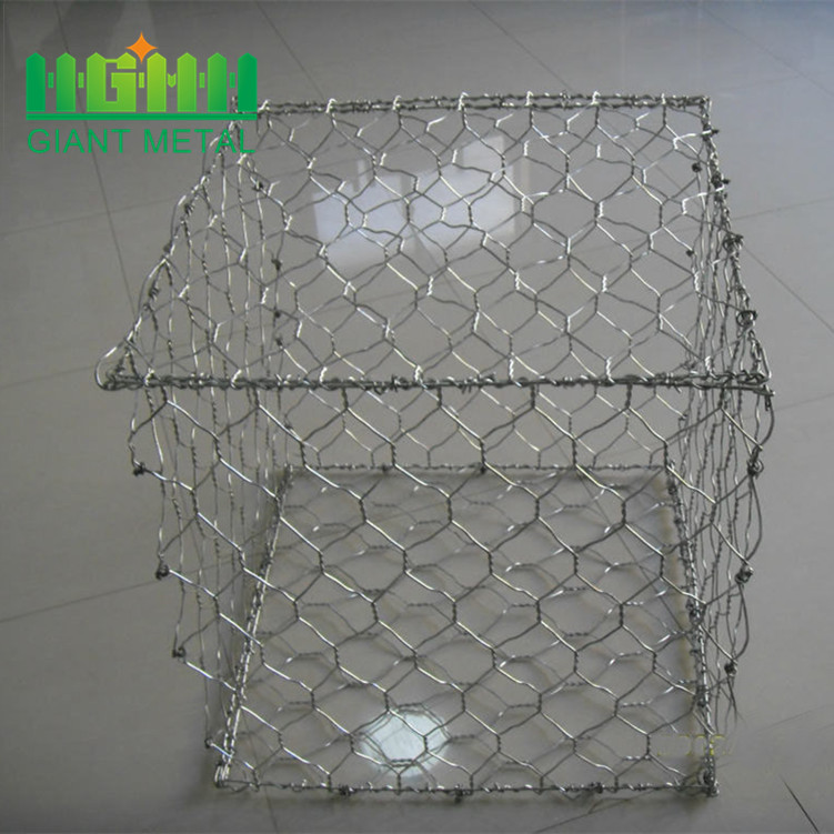 Hexagonal woven gabion boxes prices