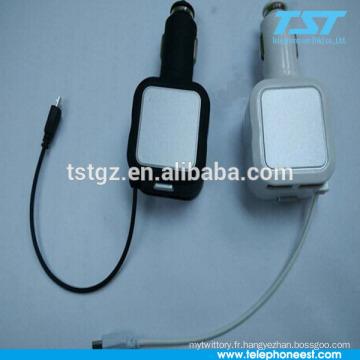 Chargeur sans fil avec charge USB pour téléphone mobie