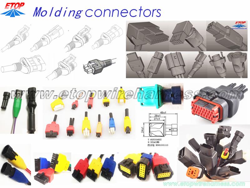 MOLDING CONNECTOR