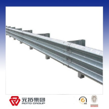 Hot galvanized metal guard rail galvanized barrier made in China