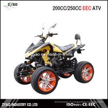 200 cc EEC approuvé ATV à vente chaude, VTT à 250 cc avec homologation CEE refroidi à l'eau