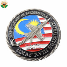 Hot Sale Coin UK Navy Chief Challenge Coin Zinc Alloy 3D Metal Souvenir Coin Collection