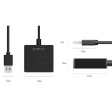 USB 3.0 a SATA 3.0 Cabo adaptador para disco rígido de 2,5 polegadas HDD e SSD