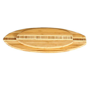 Europe style for for Bamboo Cutting Board End Grain Inlay Bamboo Surf cutting board export to Uruguay Importers