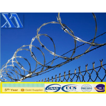 Galvanized Concertina Razor Barbed Wire (XA-RB002)