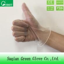 Examen de gants vinyliques Résistance chimique
