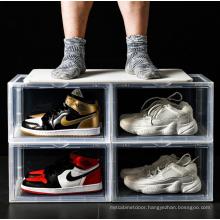 Shoes Containers Box Transparent Plastic Storage Boxes & Bins,storage Boxes & Bins Clear Box for Shoes Detachable Classic,modern