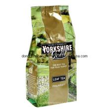 Bolsa de té de vacío de fondo plano / bolsa de vacío de té