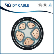0.6 / 1kv XLPE isolierte PVC umhüllte elektrische Stromkabel