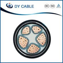 Câble d'alimentation électrique gainé par PVC de 0.6 / 1kv XLPE isolé