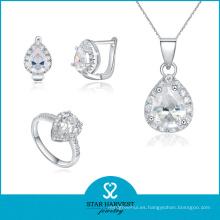 Fabricación directa de la fábrica Good Design CZ Jewelry (J-0115)