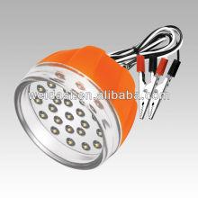 Lumière rechargeable de secours de batterie de WEIDASI 12V, lumière chaude de vente de LED, mini conception