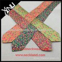 Perfect Knot 100% Handmade Silk Print China Wholesale Men's Necktie