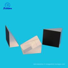 Prisme optique à angle droit, A = B = C = 25mm k9 verre AL enduit