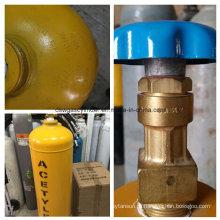 Cga-300-2 Cilindro de gás de acetileno de exportação árabe
