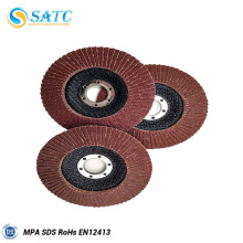 China cheap 115x22mm abrasive flap disc for metal with high quality About