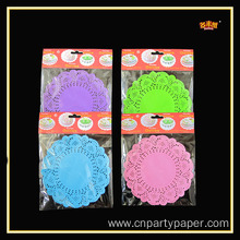 Hot Selling Printed 12 Inches Foil Doily