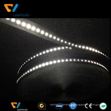 Correia elástica reflexiva alaranjada fluorescente da largura alta da luz de 5cm