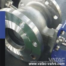 Stainless Steel CF8/CF8m Segment Ball Valve