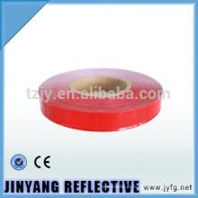 fita de PVC reflexiva elevada para costura