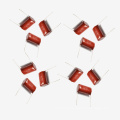 Metallized Polyester Film Capacitor Mkt-Cl21 10UF 5% 100V for Washing Machine