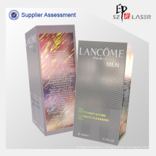 Eco-friendly Fashion Hologram Cardboard Cosmetic Packaging  Boxes