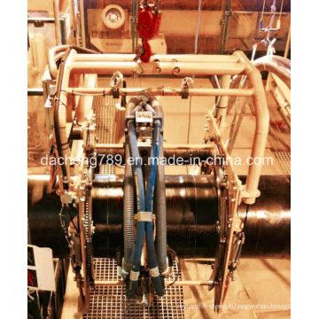 für Rohrschweißen Automatische Sandstrahl- und Entrostungsmaschine