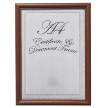 Brown A4 Graduation Frame