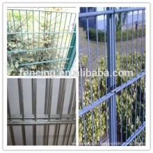 Двойная петля проволоки / декоративные двойной петли проволоки забор для продажи завода