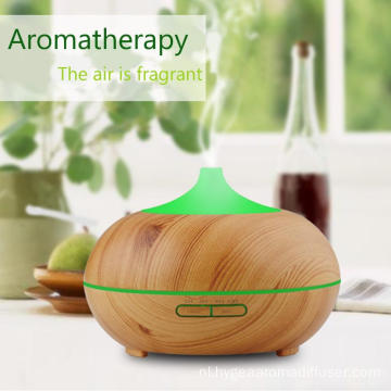 400ml draagbare hout ultrasone koeling Mist Diffuser Diffuser