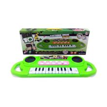Órgão eletrônico plástico com luz e música 3D (10218608)