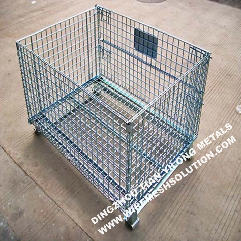 Heavy Duty Galvanized Welded Metal Storage Cages