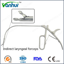 Instrumentos generales de laringoscopia Pinzas laríngeas indirectas
