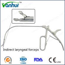 Instrumentos de Laringoscopia Geral Pinça Laringe Indireta