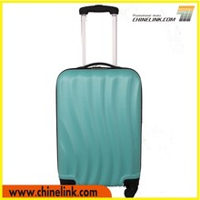 ABS Travel style luggage bag , blue luggage trolley,unique luggage