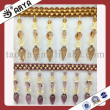 high quality beads trimming for curtain lampshade