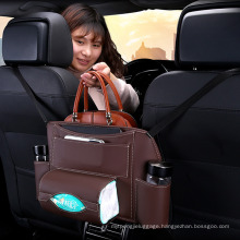Durable Car Accessory Waterproof Back Seat Organizer with Car Seat Storage Bag