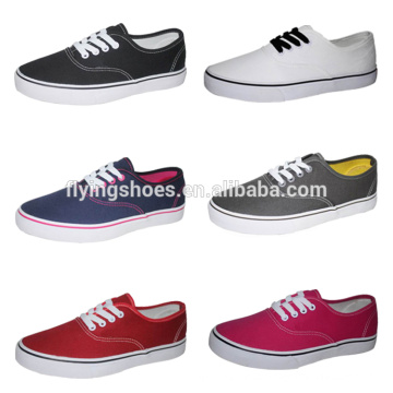 Factory new style canvas women and girl shoes