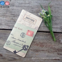 2016 Новый дизайн Kraft Paper Sewing Notebook
