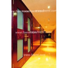 Intérieur luxueux et élégant de l'hôtel Panneaux muraux boisés (EMT-F1206)