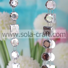 Dream18MM Crystal Garland Cute And Round Faux Jewelry Beads For Wedding Decoration