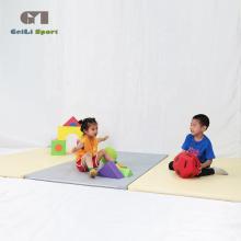 Usine de vente de tapis de gymnastique pliants souples