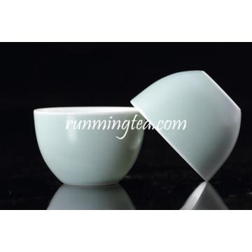 Antigo, chinês, porcelana, chá, copo