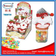 Xmas Christmas Santa Claus Toy com recipiente de doces