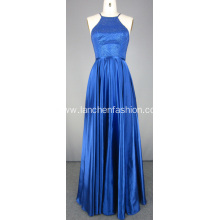 Long Royal Blue Ball Gown Evening Dresses
