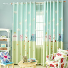 Print Children Window Curtains Kids Curtain
