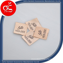 Custom Silk Printing Wash Care Label/Printing Brand Clothing Label