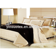 hot sale goose down polyester fillter plain dyed bedding sets
